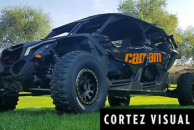 2017-2018 Can-Am Maverick X3 Max (Both Sides and Rear Fenders) Decal Kit