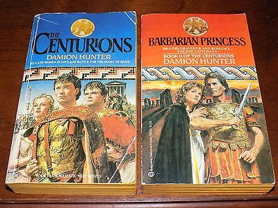 The Centurions #1 & 2 by Damion Hunter PB Barbarian Princess