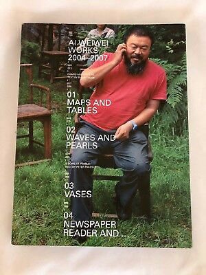 AI WEIWEI WORKS 2004-2007 art catalog paperback contemporary Chinese artist