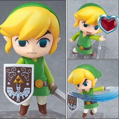 The Legend of Zelda link Figure PVC Anime Action Figures Toy Doll Gift in Box US