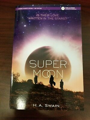 SUPERMOON by H.A. Swain ARC advance copy galley uncorrected proof