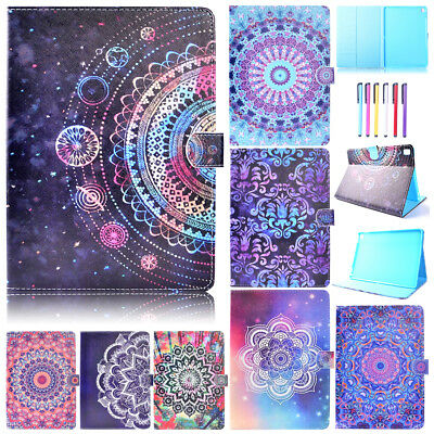 Painted Magnet Leather Cards Wallet Stand Case Cover For iPad 2 3 4/Air/9.7 2017