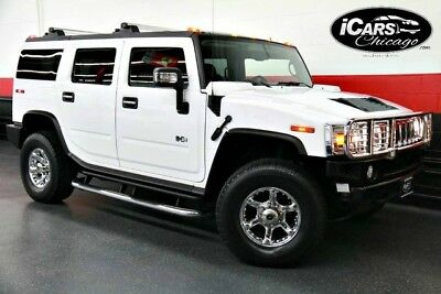 2006 Hummer H2 Base Sport Utility 4-Door 2006 Hummer H2 Rear TV'S 3rd Row Seating Chrome Package 55,683 Miles Serviced