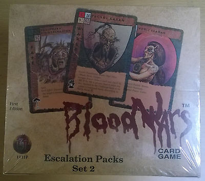 TSR AD&D Bloodwars Escalation Packs Set 2 - 1131P - First Edition (Mint, Sealed)