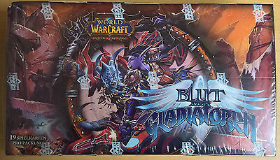 World of Warcraft (WoW) TCG - Blut der Gladiatoren - Booster Box (Mint,Sealed)
