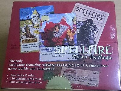 TSR AD&D Spellfire Starter Box - 1116P - First Edition (Mint, Sealed)