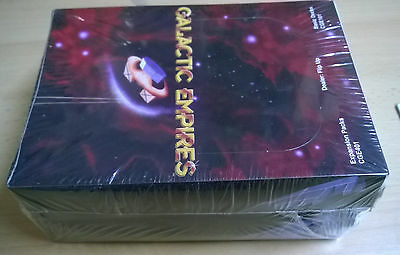 Galactic Empires Expansion Packs CGE401 & Basic Decks CGE101 (Mint, Sealed)