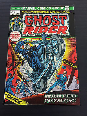 Ghost Rider 1 Classic Cover Nice Shape