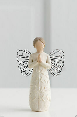 Willow Tree Figurine A Tree A  Prayer Angel By Susan Lordi  26170