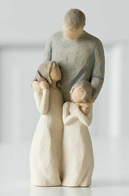 Willow Tree Figurine My Girls, Father and His Daughters  Susan Lordi  26232