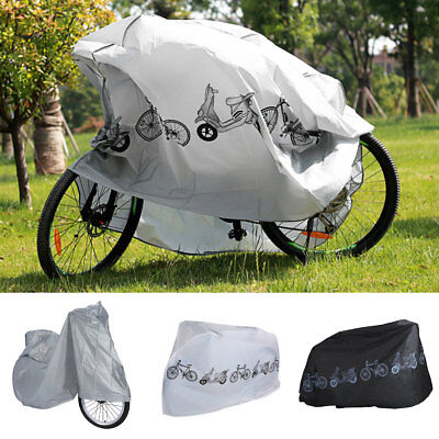 Universal Waterproof Bicycle Bike Cover Rain Resistant Sun Protection 2 Types DY