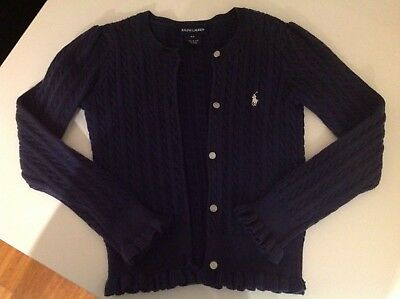 Ralph Lauren girls size 6X cardigan