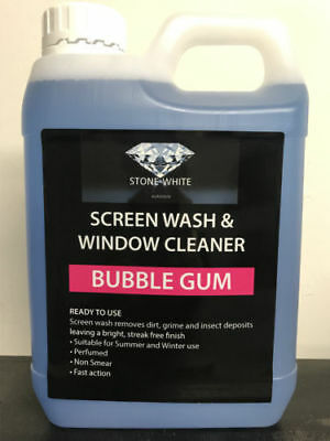 1L Bubblegum Screenwash Concentrated Car Windscreen Washer Fluid FREE DELIVERY
