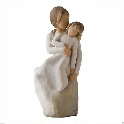 Mother and Daughter Sitting Willow Tree Figurine By Susan Lordi  27270