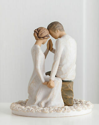 Willow Tree Figurine Around You Wedding Cake Topper By Susan Lordi  27342