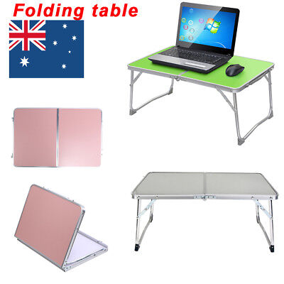 Portable Folding Laptop Table Desk Home Bed Reading Computer Camping Tray Stand