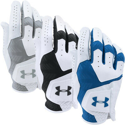 Under Armour Mens UA CoolSwitch Leather Golf Gloves Right Hand MRH