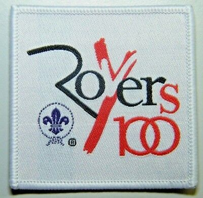 100 years of Rover Scouts, 2017 World Scout Badge, NEW