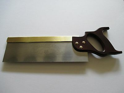 "Brass Back Tenon Saw 12"" (Garlick) cross cut 13tpi"
