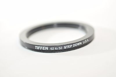 62mm to 52mm Step down ring Filter for Nikon Canon Sony Tamron Sigma Pentax lens