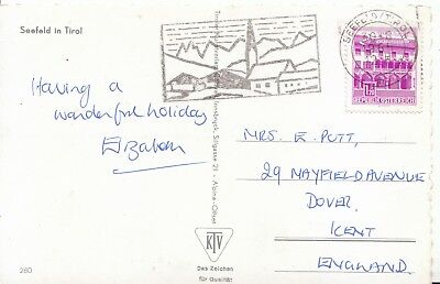 Family History Postcard - Putt - Mayfield Avenue - Dover - Kent - Ref 2211A