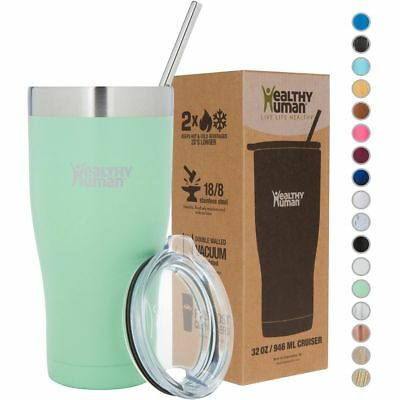 Healthy Human 32oz-cruiser-seamist Stainless Steel Tumbler Cup