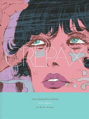 Complete Crepax Vol.3, The: Evil Spells by Guido Crepax Hardcover Book Free Ship