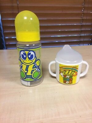 OFFER - Official Valentino Rossi VR46 Baby's Bottle + Cup
