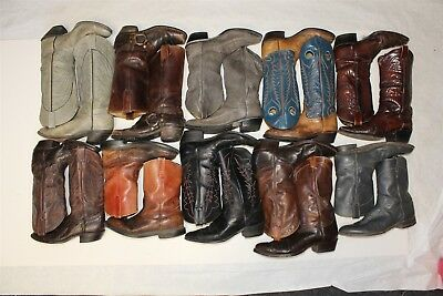 Cowboy USED REHAB Lot Boots Wholesale Justin Red Wing Frye Tony Lama zDrD