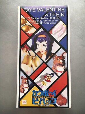 Faye Valentine Resin Kit Cowboy Bebop Authentic Amie Grand Japan NOT Recast