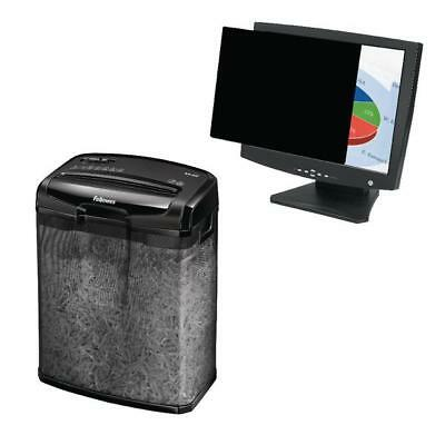 Fellowes 22in Widescreen PrivaScreen Privacy Filter with Shredder BB810525
