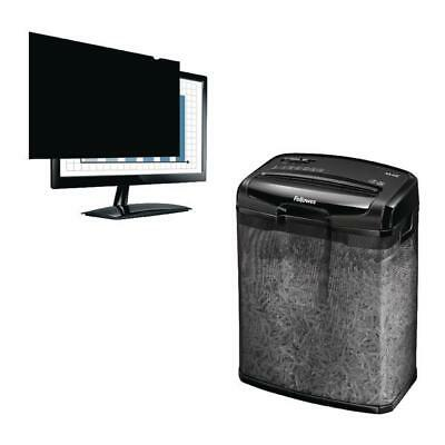 Fellowes 23in Widescreen PrivaScreen Privacy Filter with Shredder BB810524