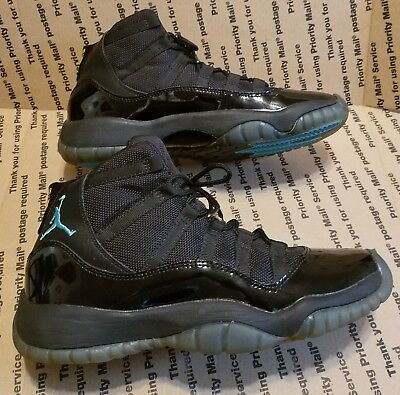 Nike Air Jordan Retro 11 Gamma Blue Boys Kids Youth Sneakers Shoes Size 6Y RARE