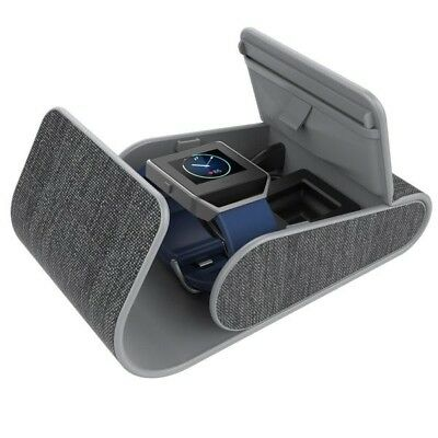 NEW myCharge PowerGear Sport GRAY Wearables Hard Charging Case fitbit watch usb