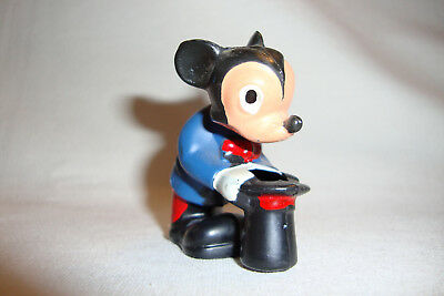 Mickey Mouse Magician Head Nodder Vintage Cake Topper from 1960's