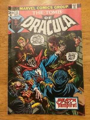 The Tomb of Dracula #13, Origin of Blade, and Lot #12-31, #7, #59. Low-Mid Grade