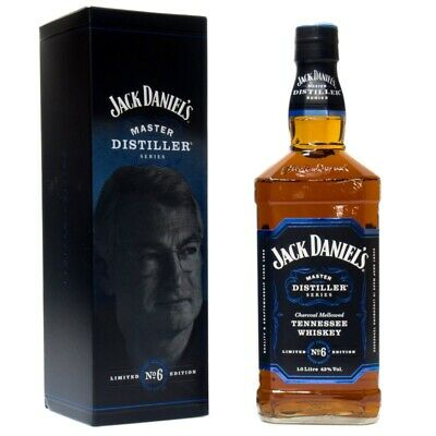 Jack Daniel's Master Distiller Series No. 6 + GB 1000ml 43% Vol.