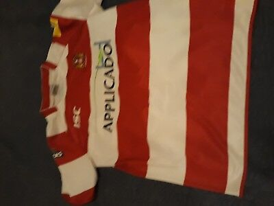 Wigan warriors s tomkins xl rugby league shirt