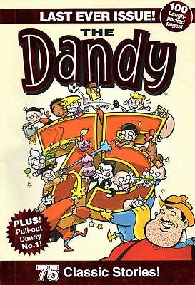 Dandy - Last Ever Issue - December 4Th 2012 With Facsimile Of 1St