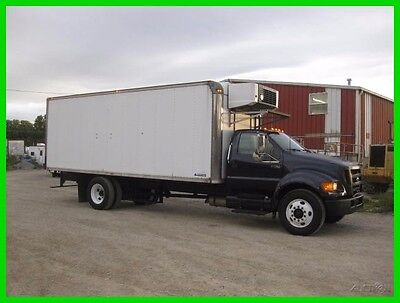 2004 FORD F750 22' REEFER BOX Used REEFER