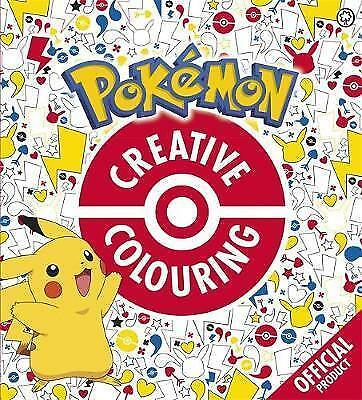 Official Pokémon Kids Creative Colouring Book Children From Ages 5+ BRAND NEW