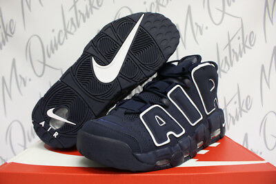 Nike Air More Uptempo 96 Sz 8-15 Pippen Obsidian Navy Blue White 921948 400