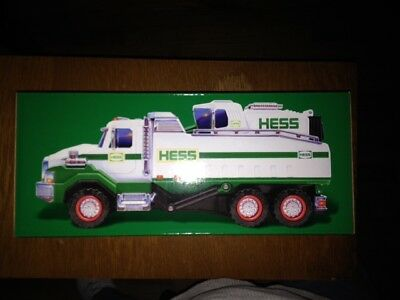 2017 Hess Toy Truck- dump truck & loader- Brand New Unopened Box SOLD OUT!