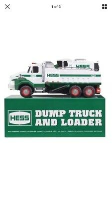 Brand New 2017 Hess Toy Truck - Dump Truck and Loader New In Box Sold Out Online