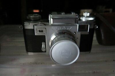 Zeiss Ikon Contax IIIa Post-War Camera with  Zeiss Opton Lens F2.50mm and case