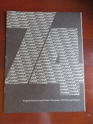 Virginia Electric & Power Co 1974 Annual Report VEPCO