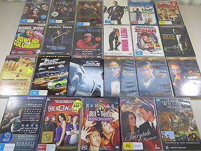 Bulk lot of DVDs movies