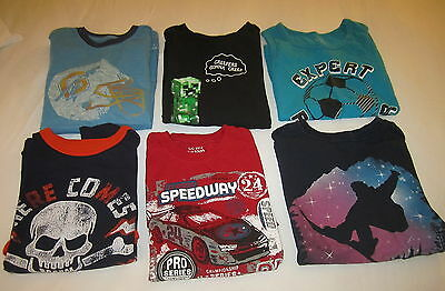 Lot 6 Boys Shirts / Tops Tank Top Place Gap Brothers Clothes Size 10/12 Large