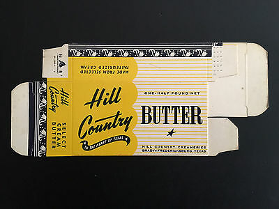 Vintage 1960's Hill Country Butter Box – Texas