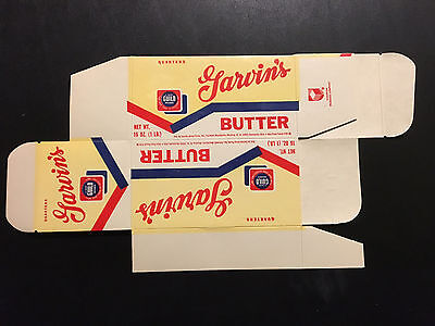 1960's Garvin's Butter Box NOS – West Virginia & Ohio